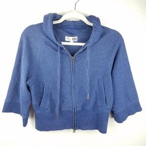 VICTORIAS SECRET Sexy Sport Cropped Zip Up Hoodie